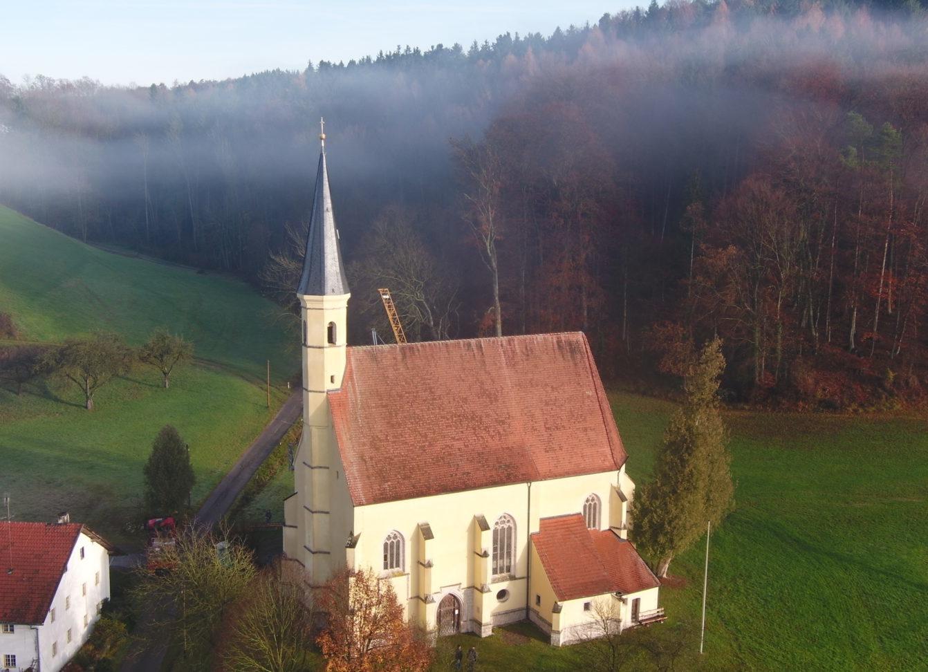 St Anna Luftaufnahme