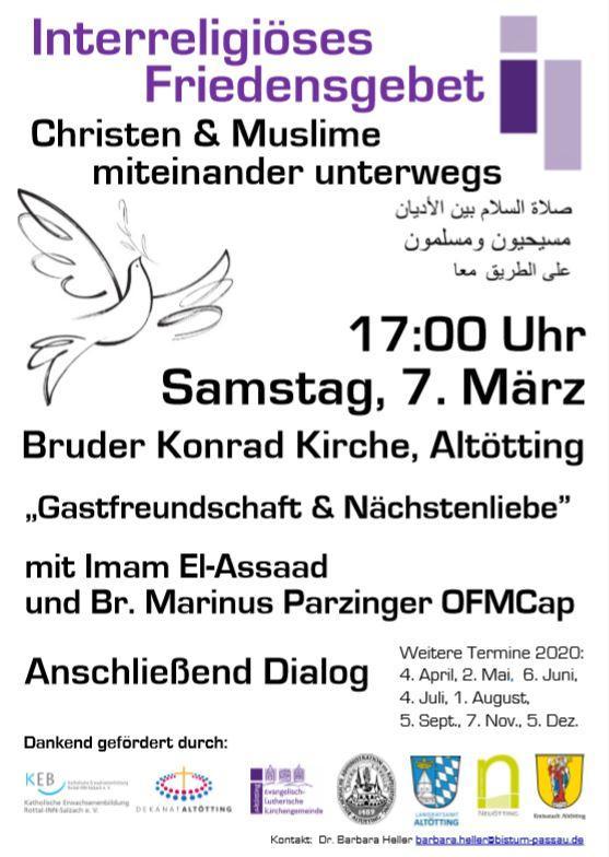 Interreligiöses Friedensgebet2020