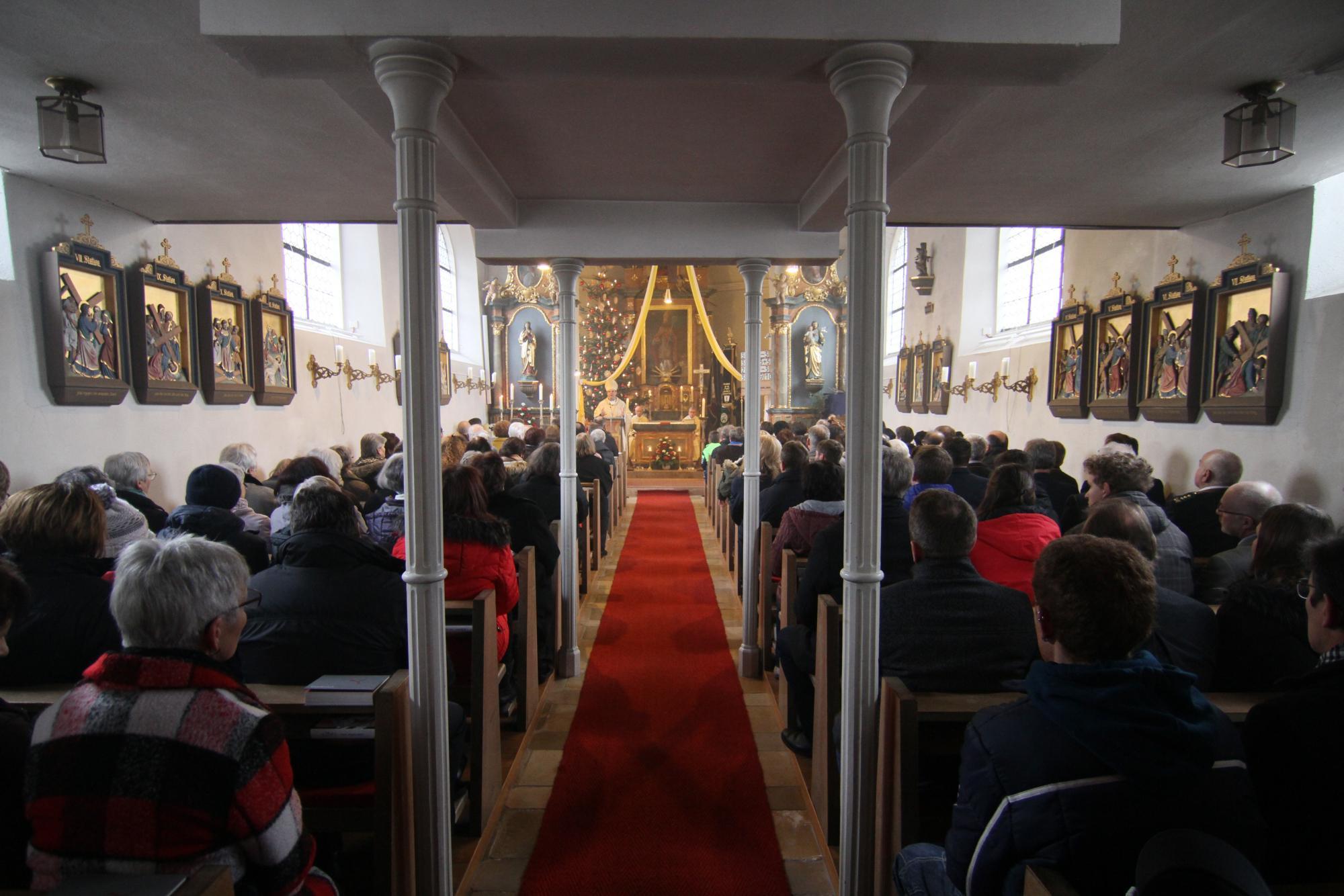 01 2019 125 Jahre Frohnstetten Bischof Oster 6840