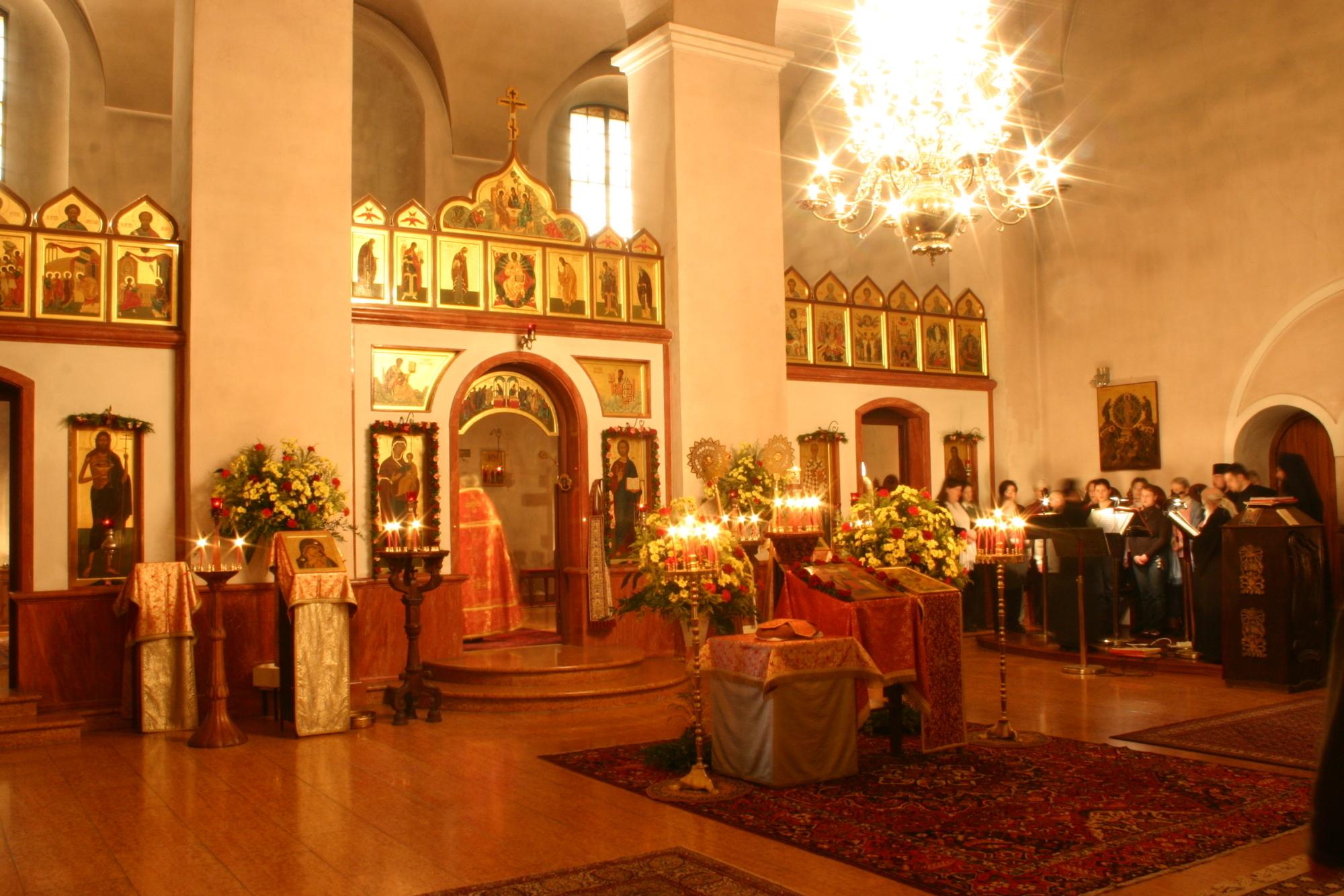Byzantinische Kirche in Niederaltaich