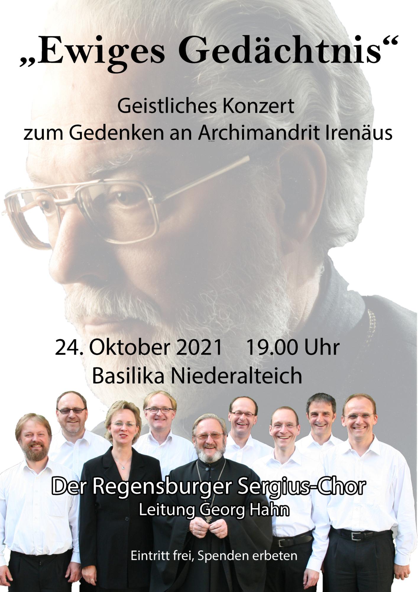Plakat Irenäus 2021