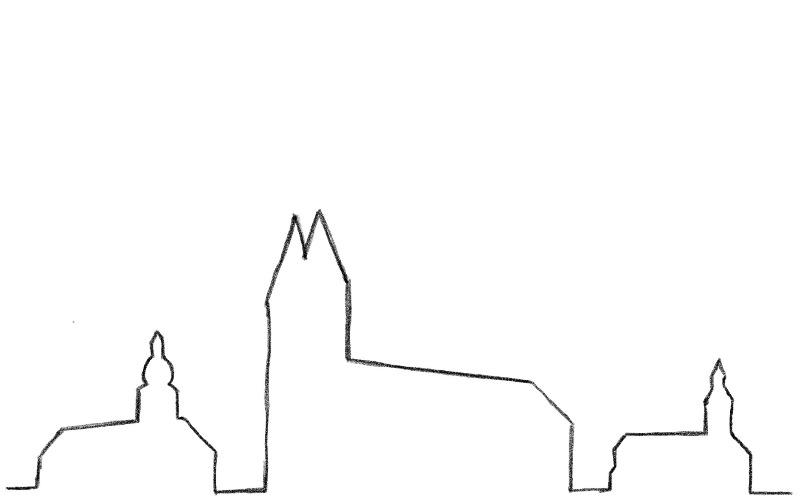 Silhouette Kirchen800500
