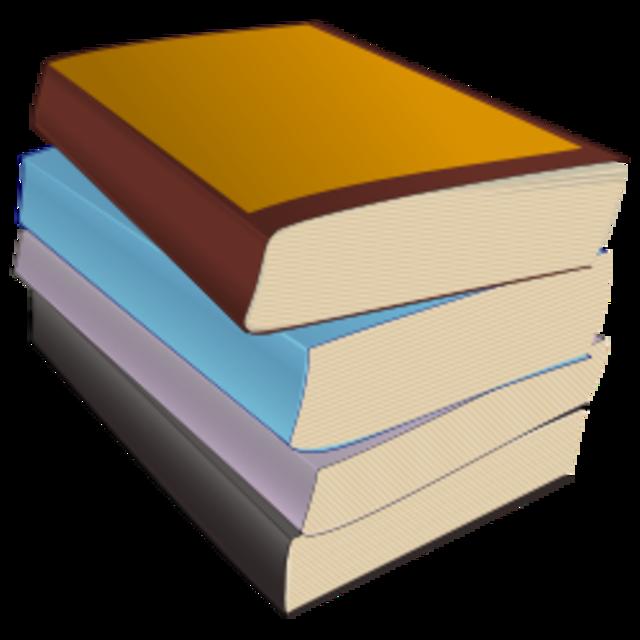 640px Paperback stack