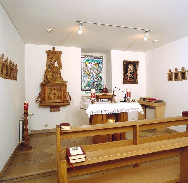 Altar in der Kapelle der Hellge Klinik