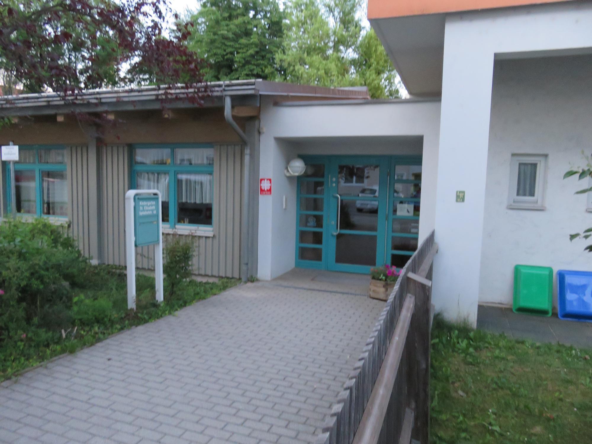 Kiga Elisabeth Eingang