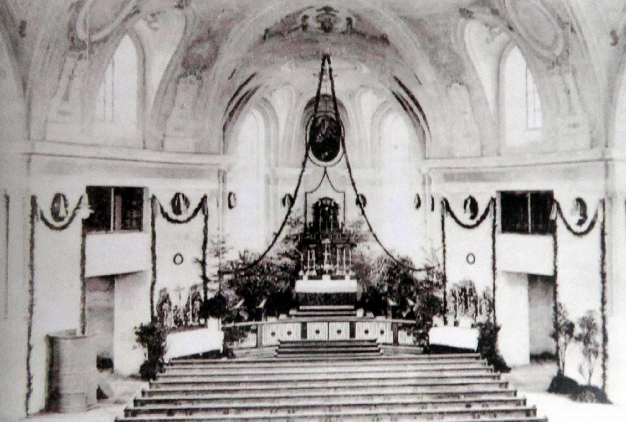 Altar-Retabel 1910-1923