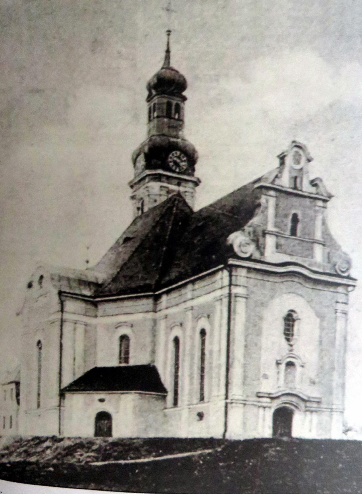 Außenansicht um 1930