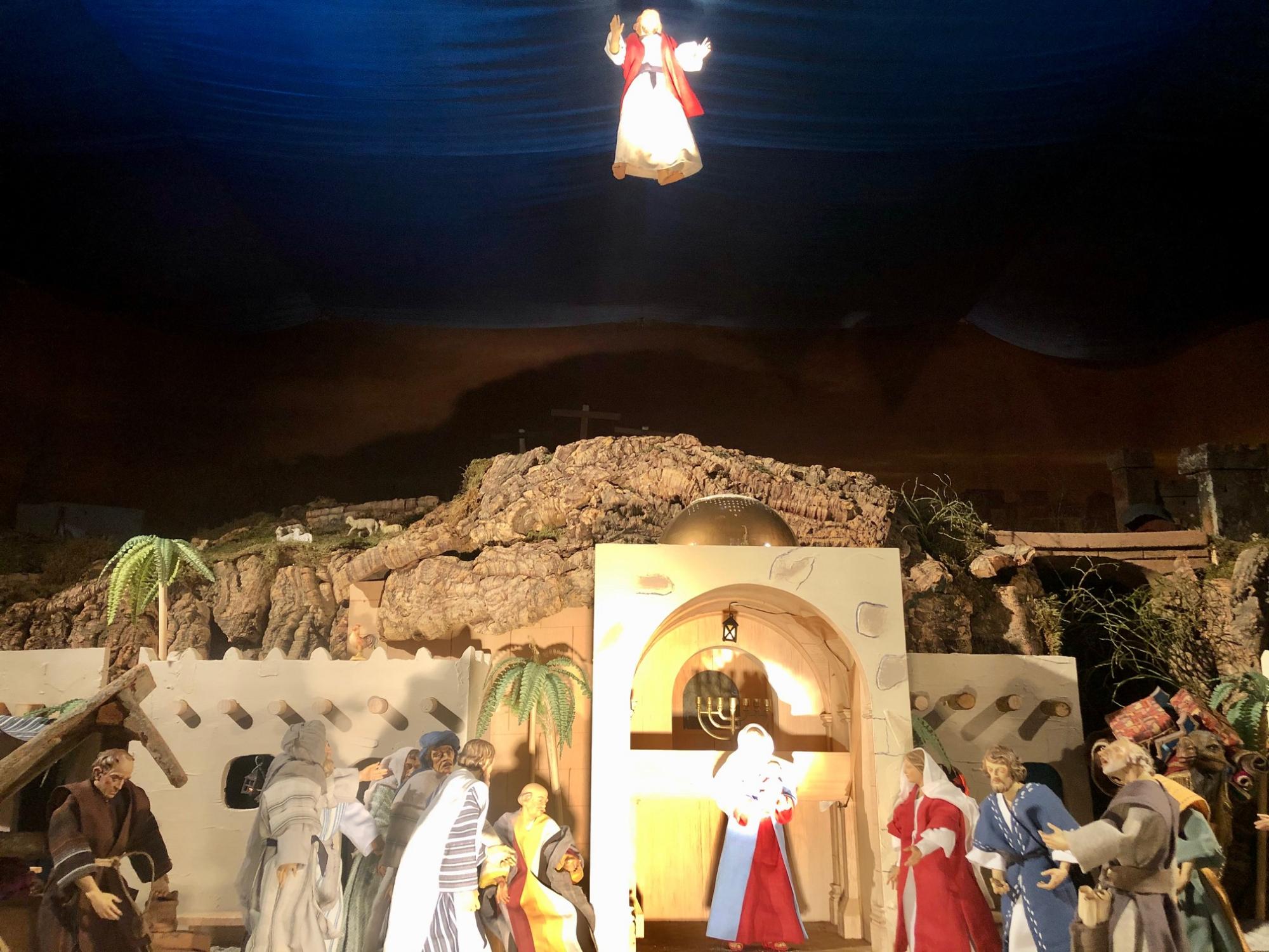 Jahreskrippe Christi Himmelfahrt