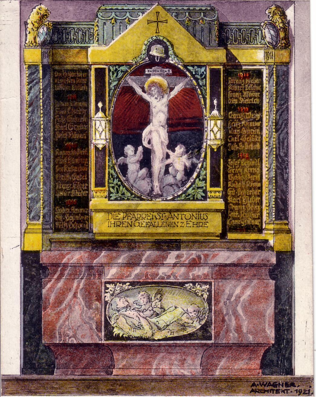 Kriegeraltar 1921