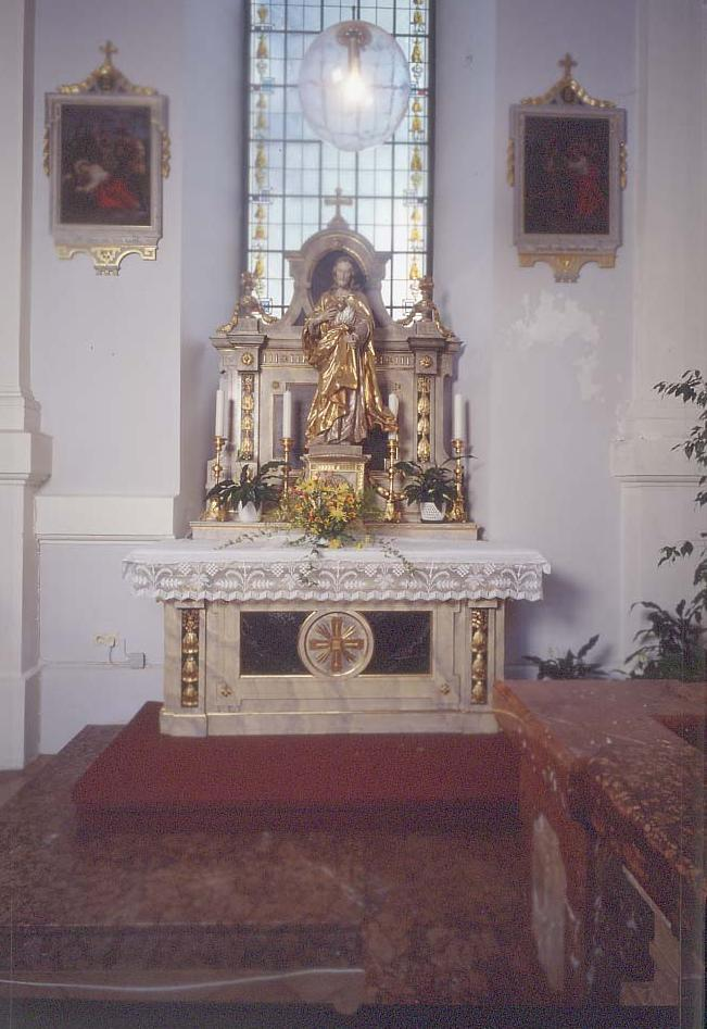 Maierhofkirche Seitenaltar Rechts