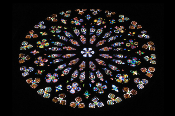 Foto Rosette Kirche passend