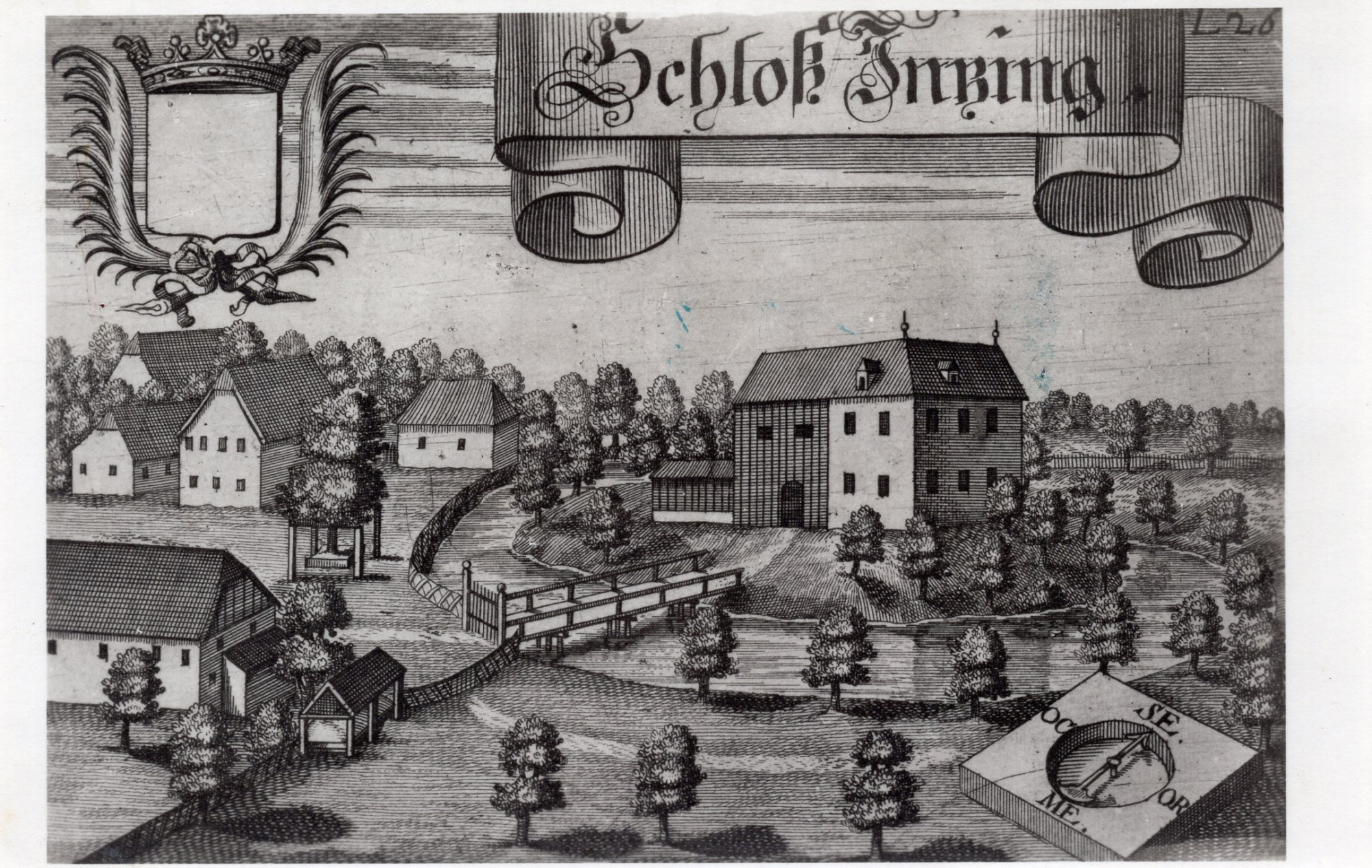 Inzing Schloss Stich