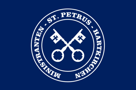 Logo Minis Haki blau passend
