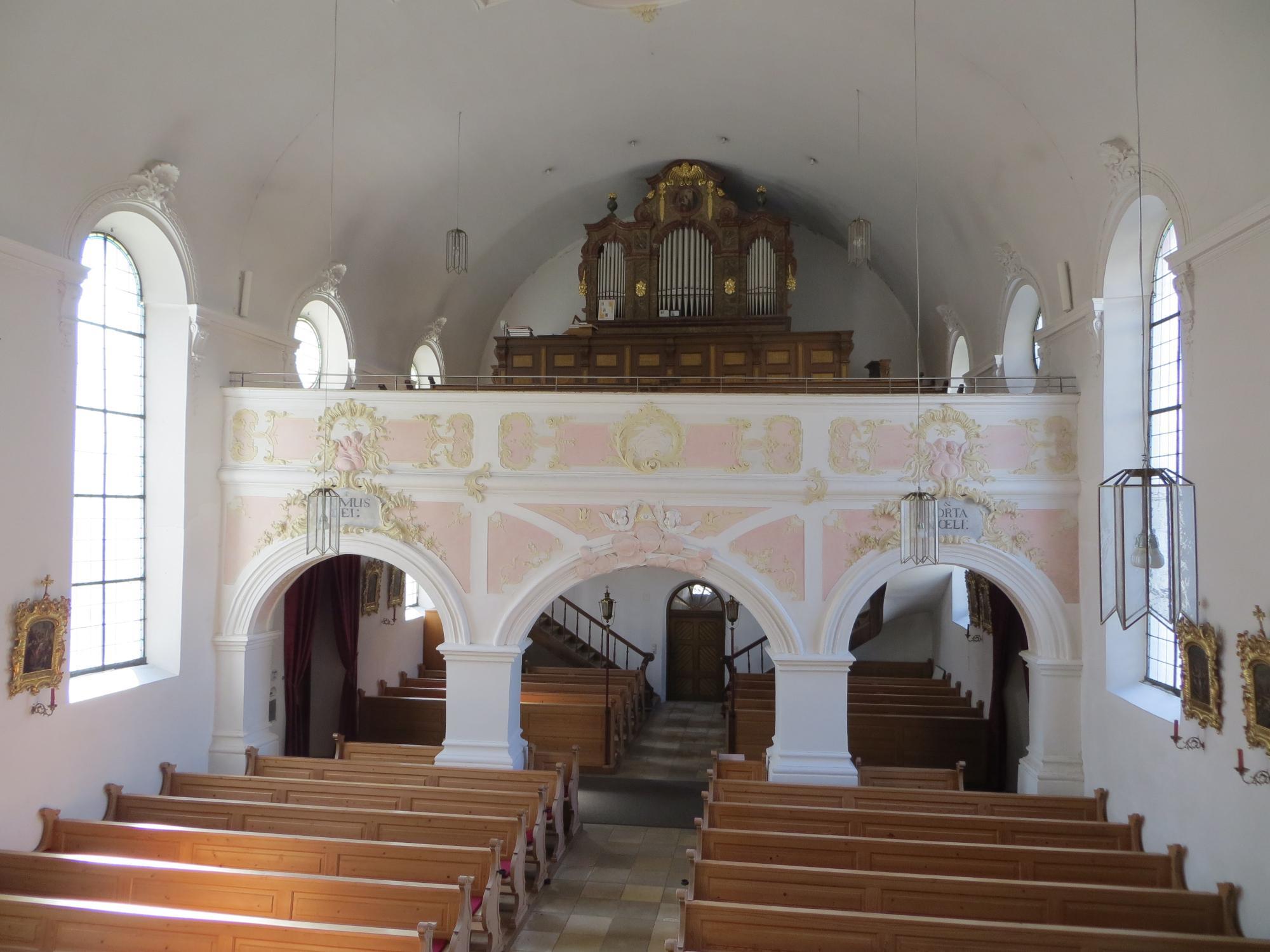 Schönburg Empore