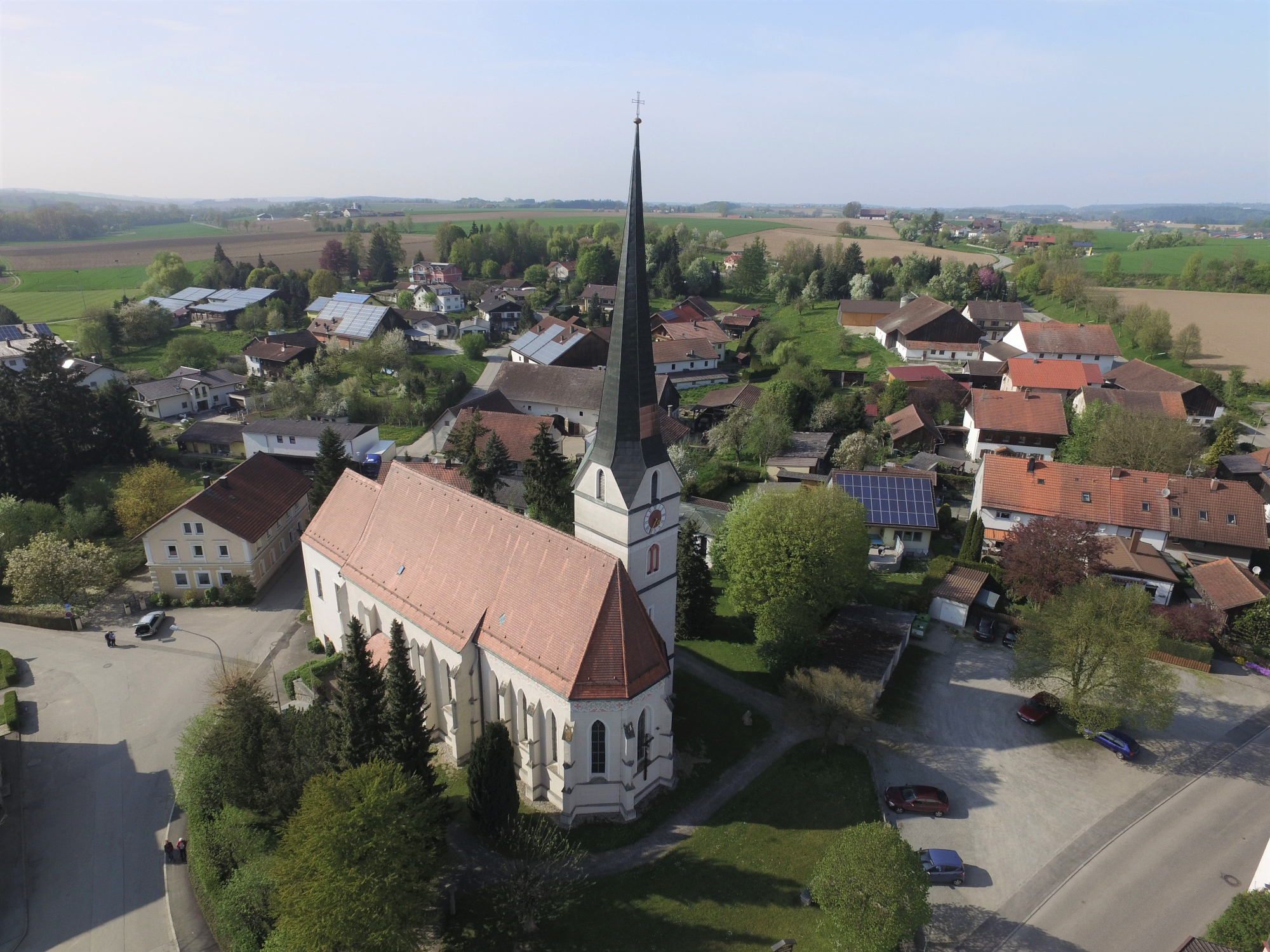 Kirche Dorf