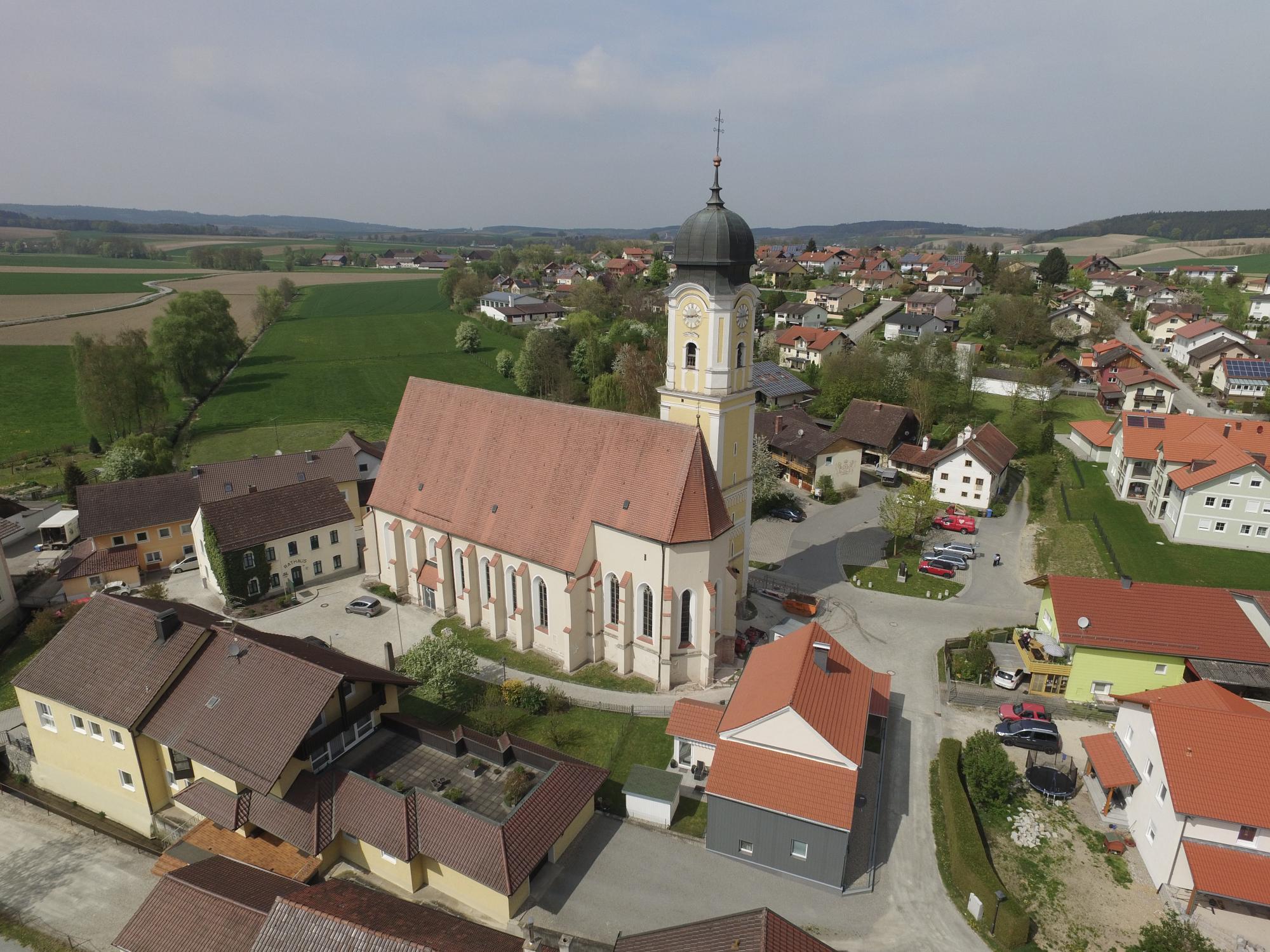 Tettenweis Kirche u Dorf