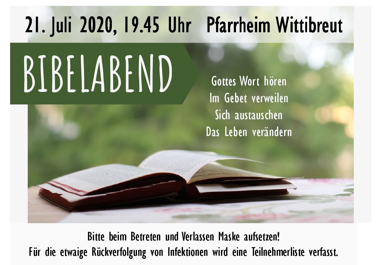 2020 07 21 Bibelabend