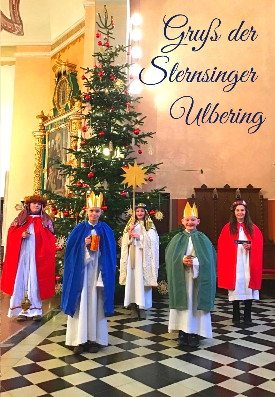 2021 01 Sternsinger Ulbering