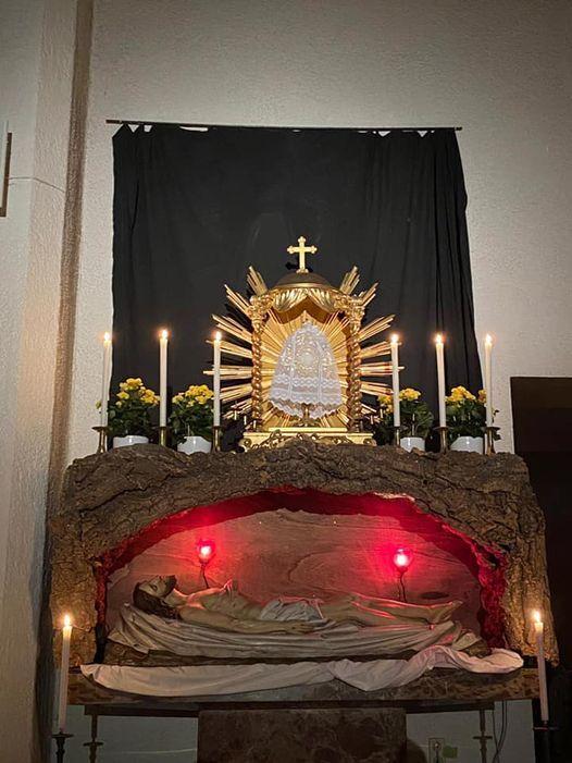 2021 04 Karfreitag St Marien Heiliges Grab