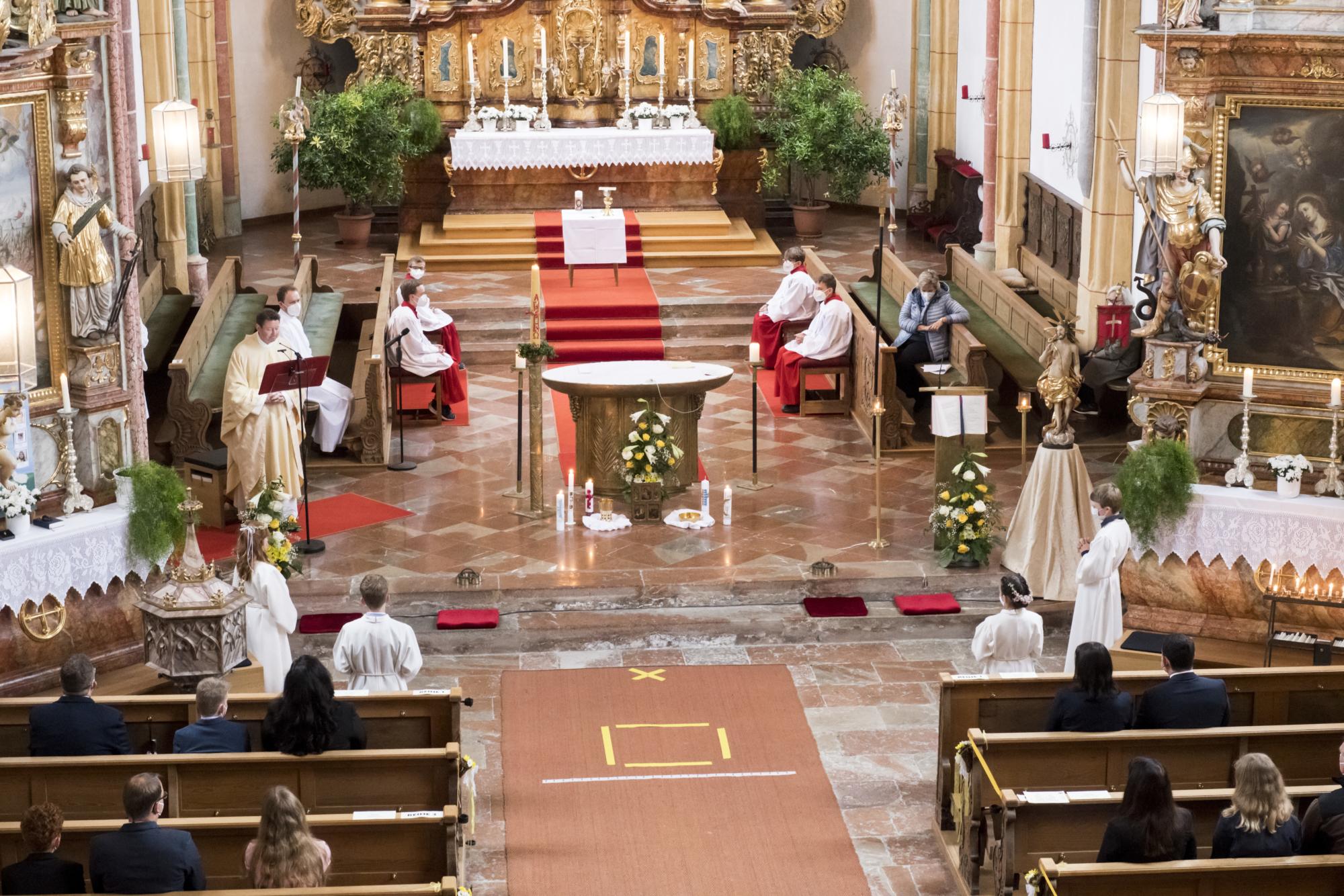2021 Erstkommunion 10 Vaterunser Erlach