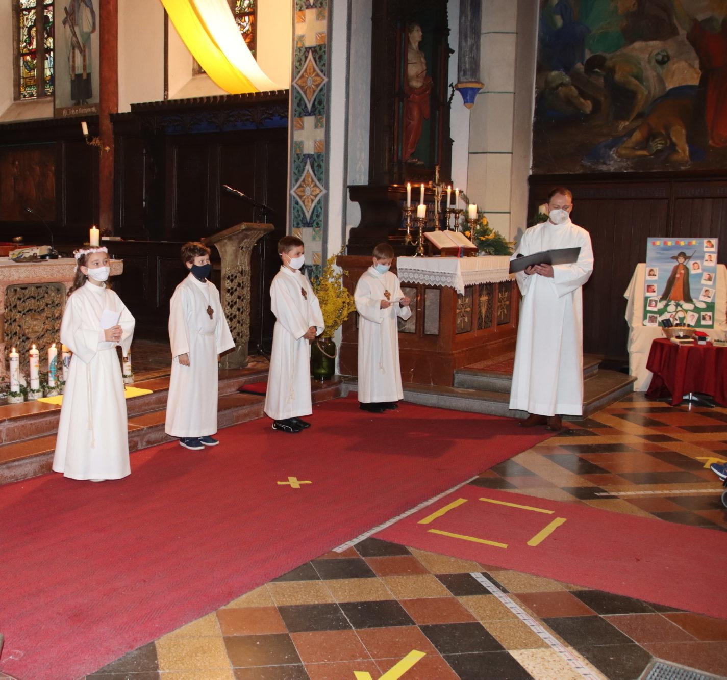 2021 Erstkommunion 8 Fürbitten Kirchberg