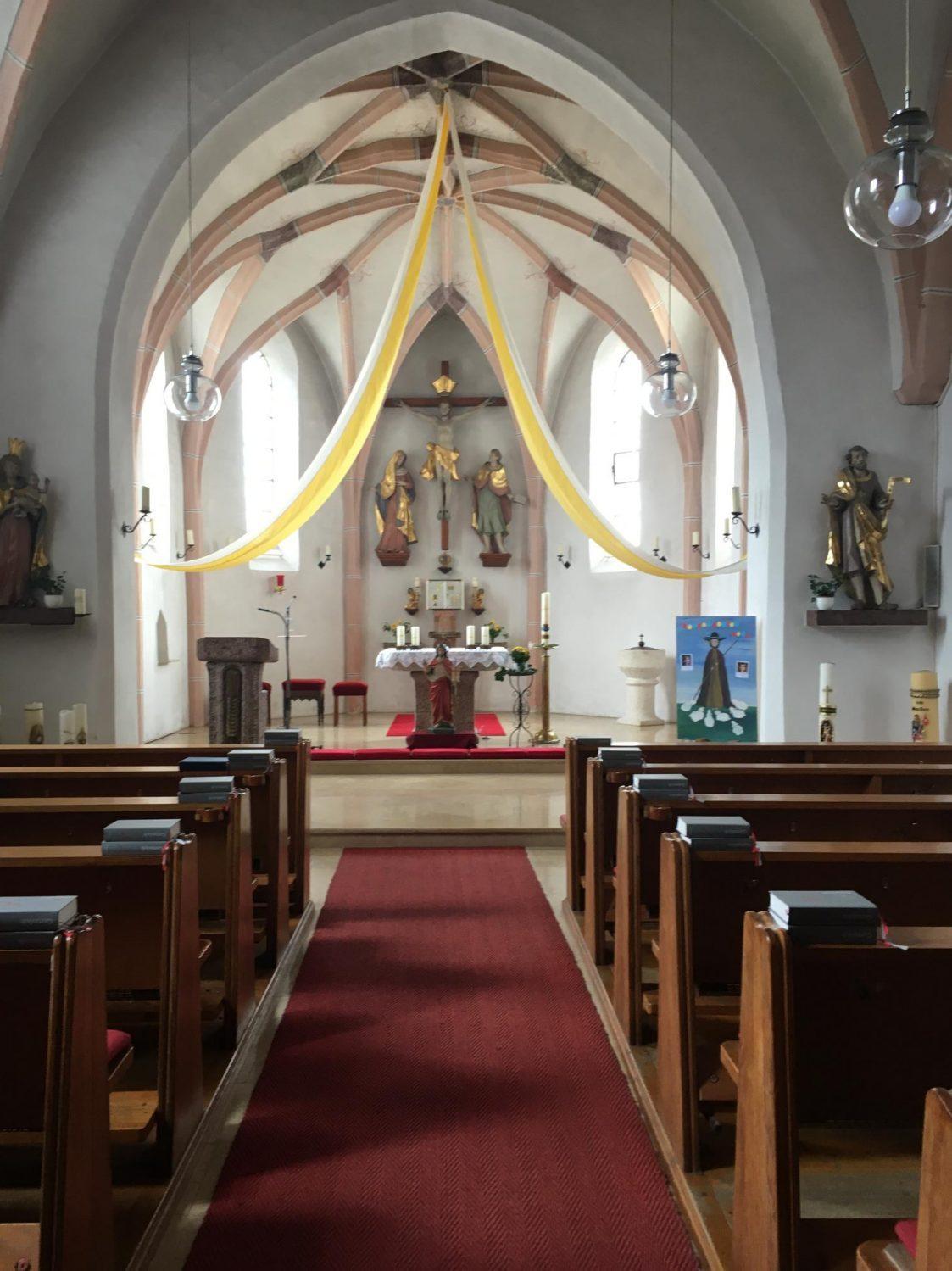 Eggstetten Kirche Innen