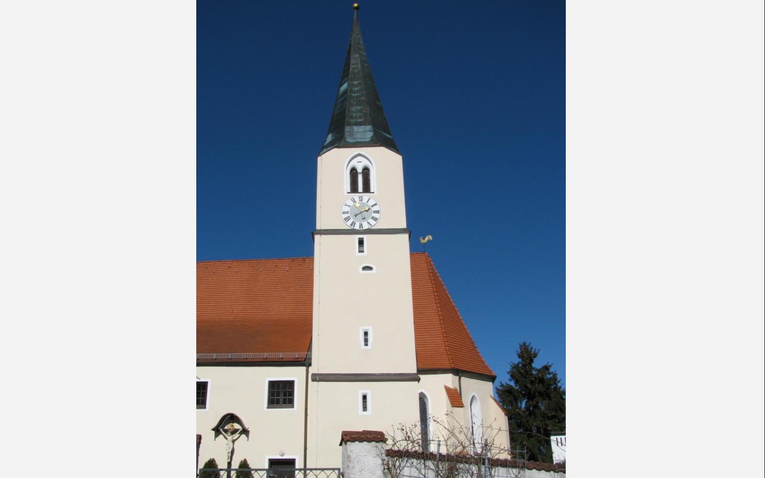 Eggstetten Kirche aussen entryimage