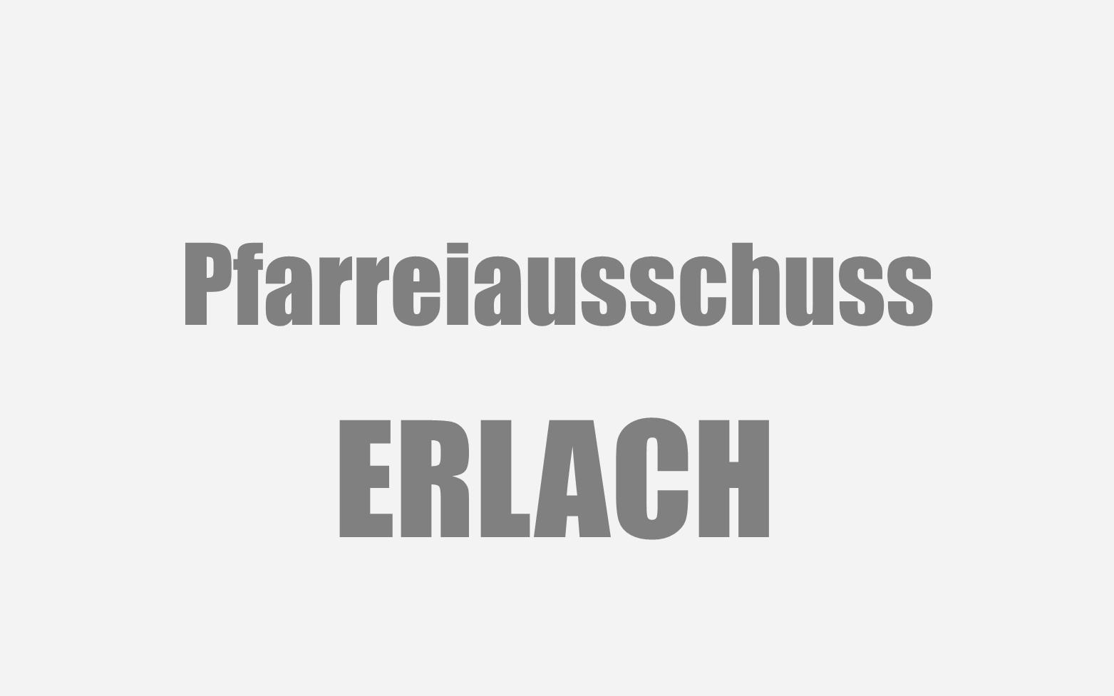 Erlach Pfarreiausschuss Symbolbild