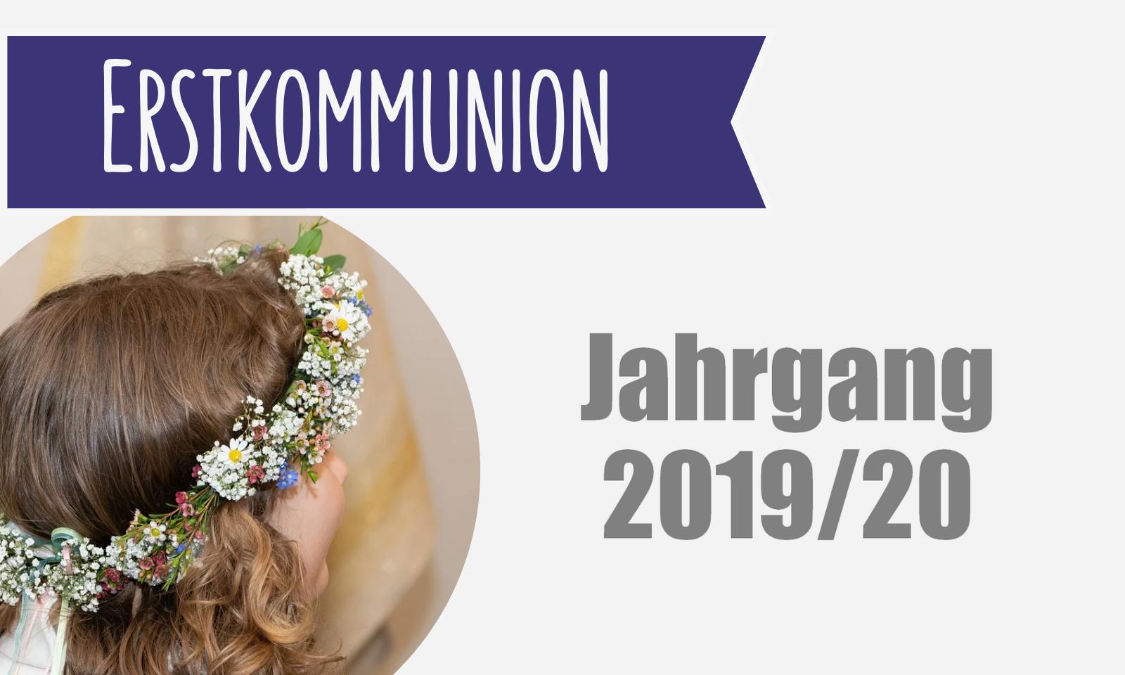 Erstkommunion Symbolbild2019 20
