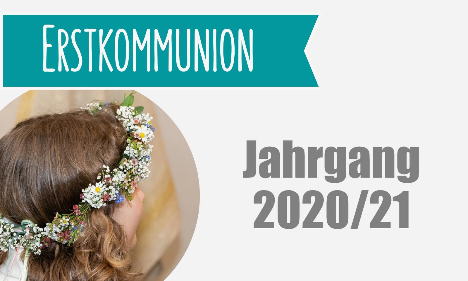 Erstkommunion Symbolbild2020 21