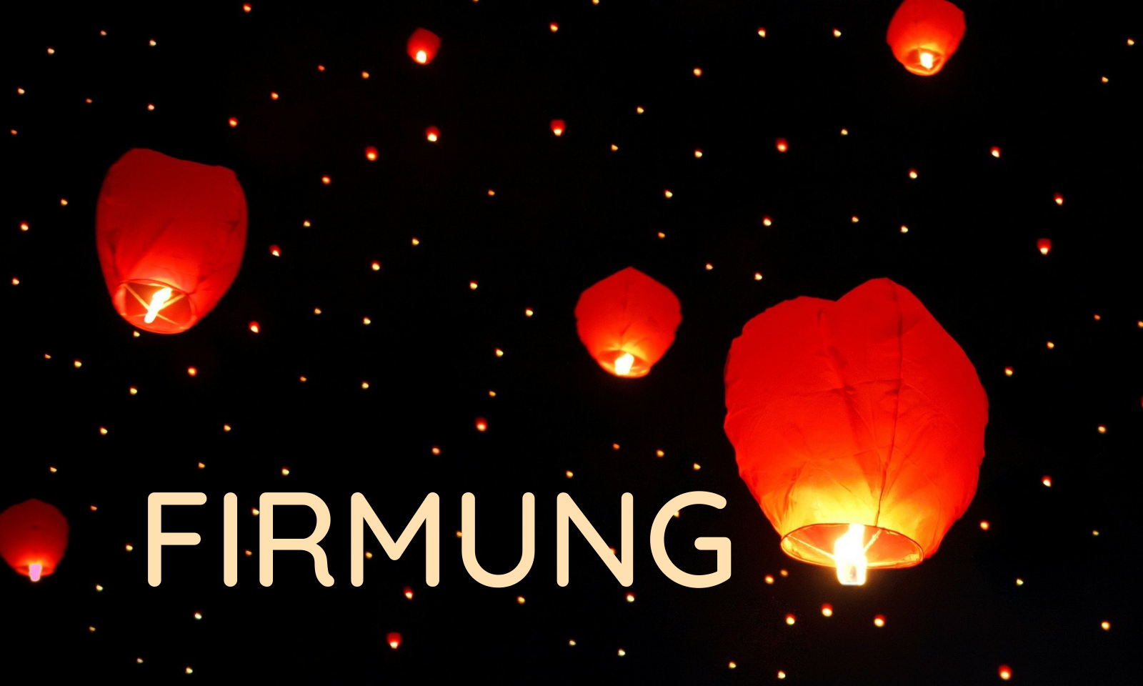 Firmung Entry Image