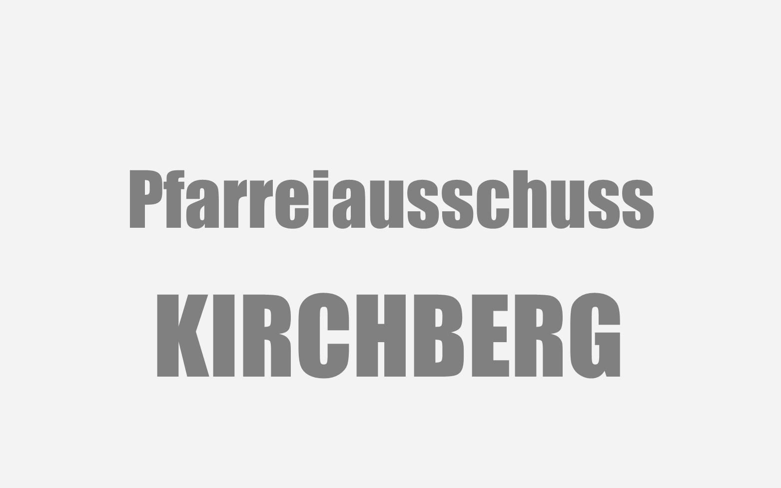 Kirchberg Pfarreiausschuss Symbolbild