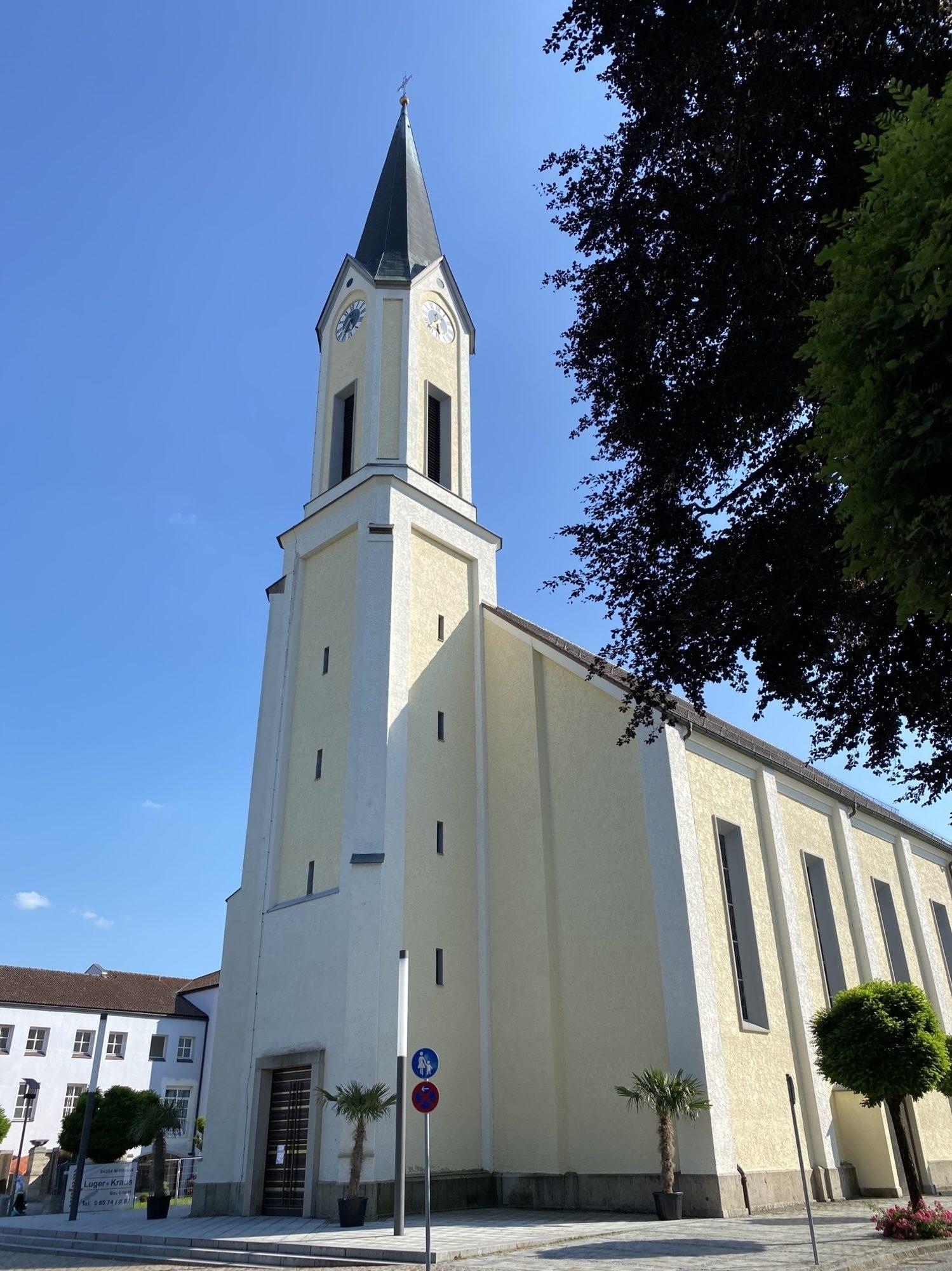 St Marien Kirche außen