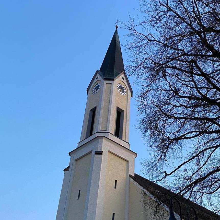 St Marien außen Turm Entholzner