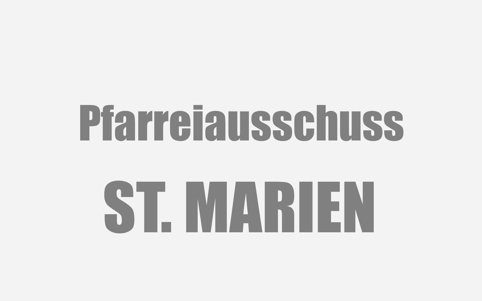 St Marien Pfarreiausschuss Symbolbild