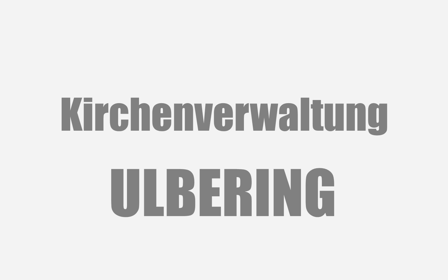 Ulbering Kirchenverwaltung Symbolbild
