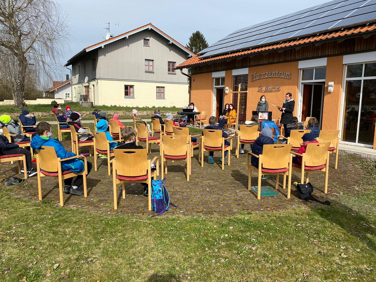 Kindergottesdienst in Neukirchen v Wald