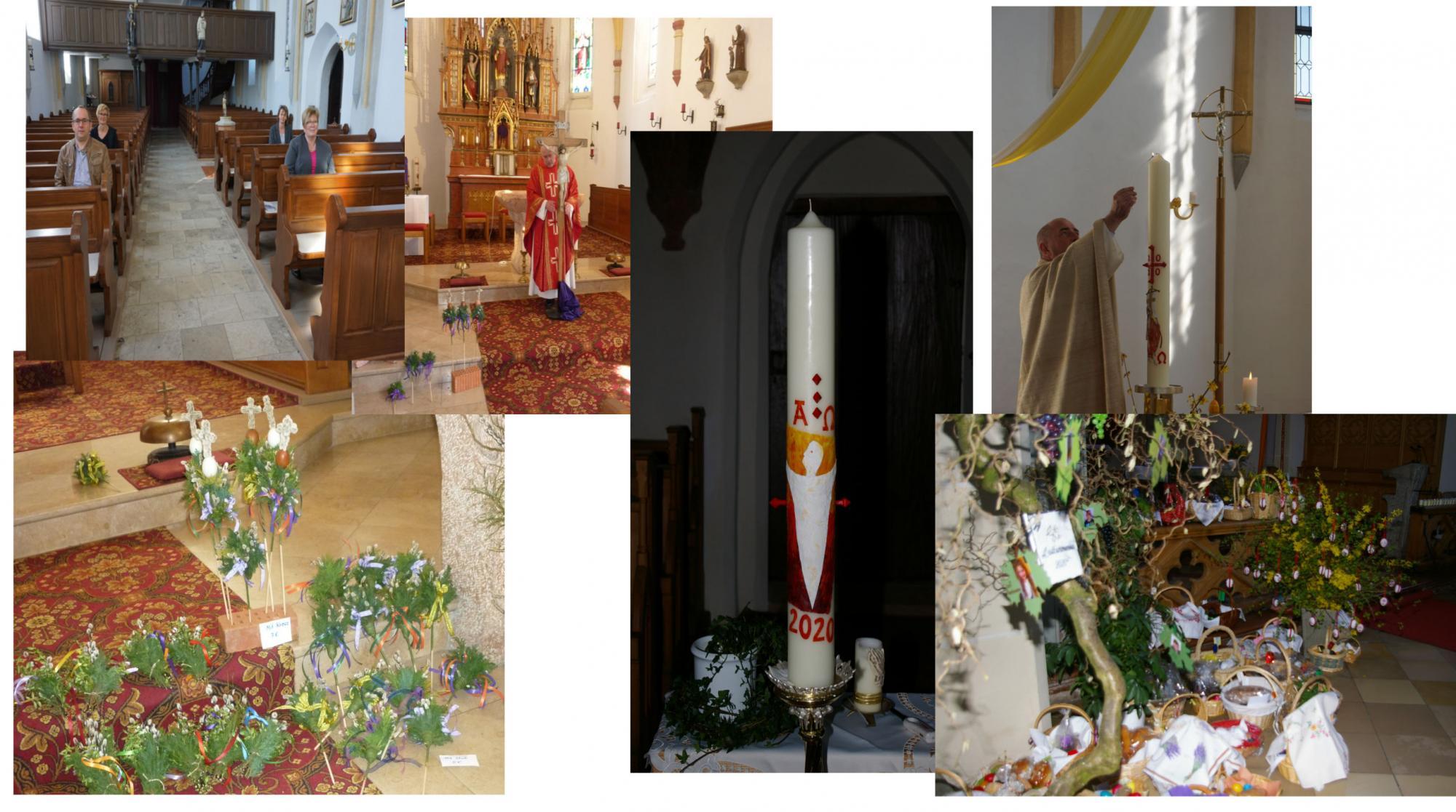 Collage Heilige Woche1