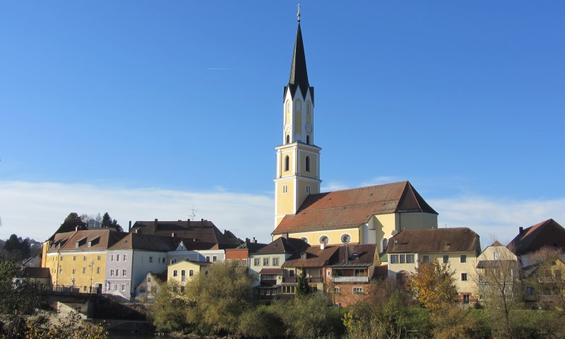 Stadtpfarrkirche St. Johannes der Täufer in Vilshofen