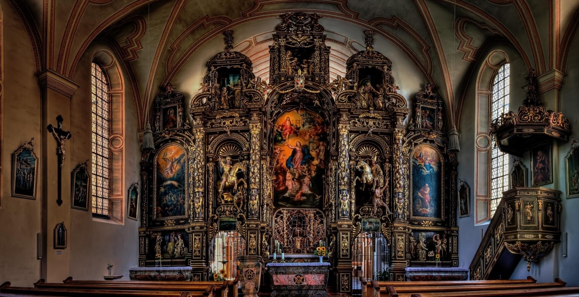 Altarwand Sammarei 1