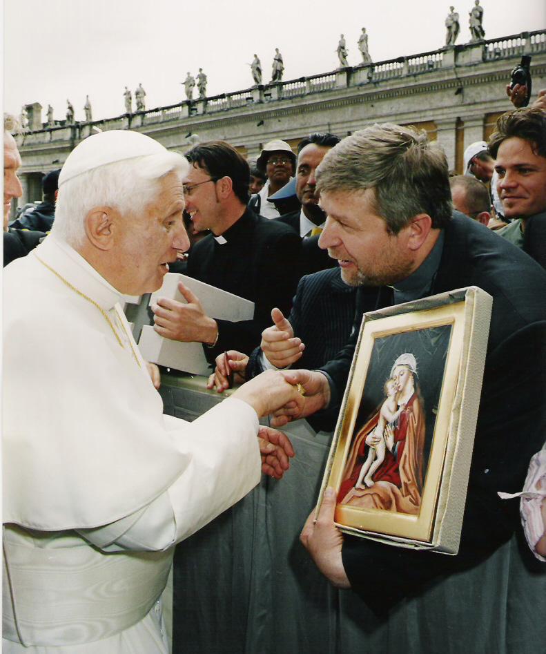Beim Heiligen Vater