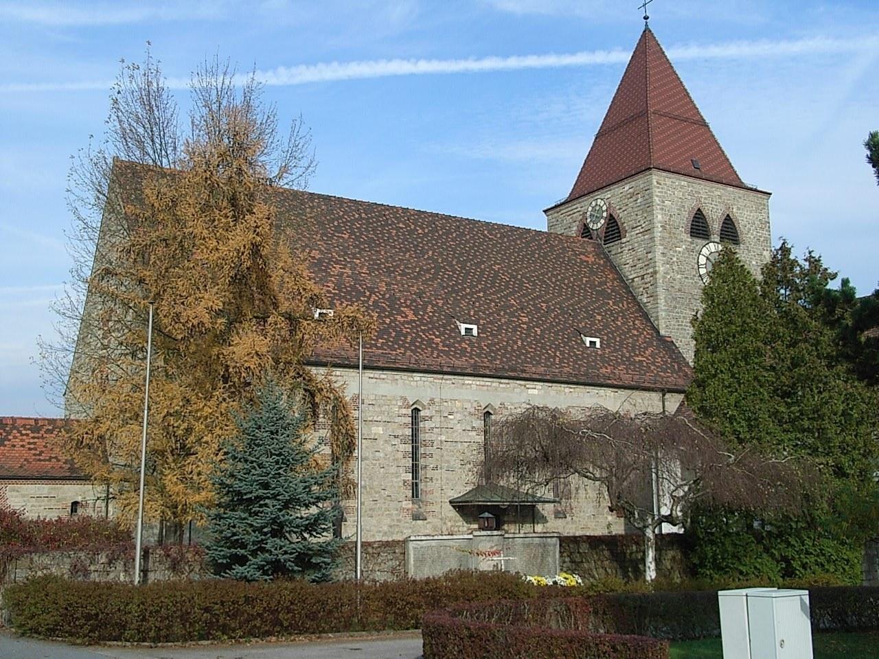 Kirche Passau Auerbach 8 Nov 2006 001