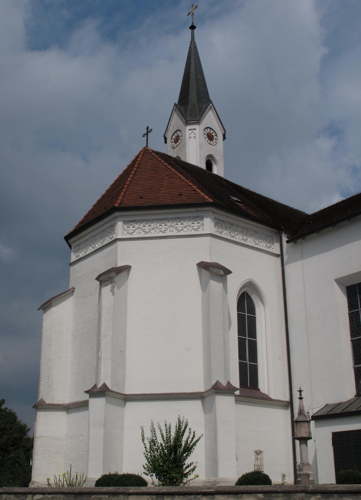 Kirche Sankt Oswald Marktl