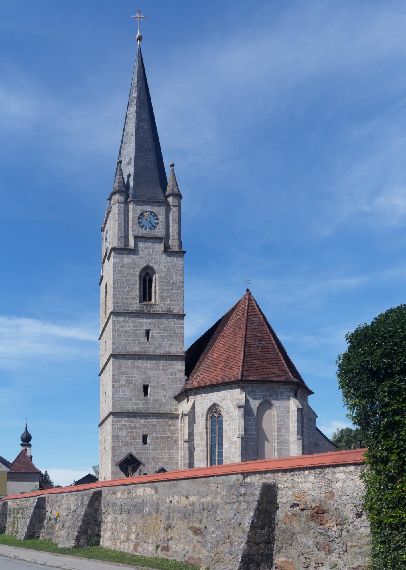 Malching2 C die Katholische Pfarrkirche Sankt Aegidius Dm D 2 75 132 3 foto7 2017 08 08 10 55