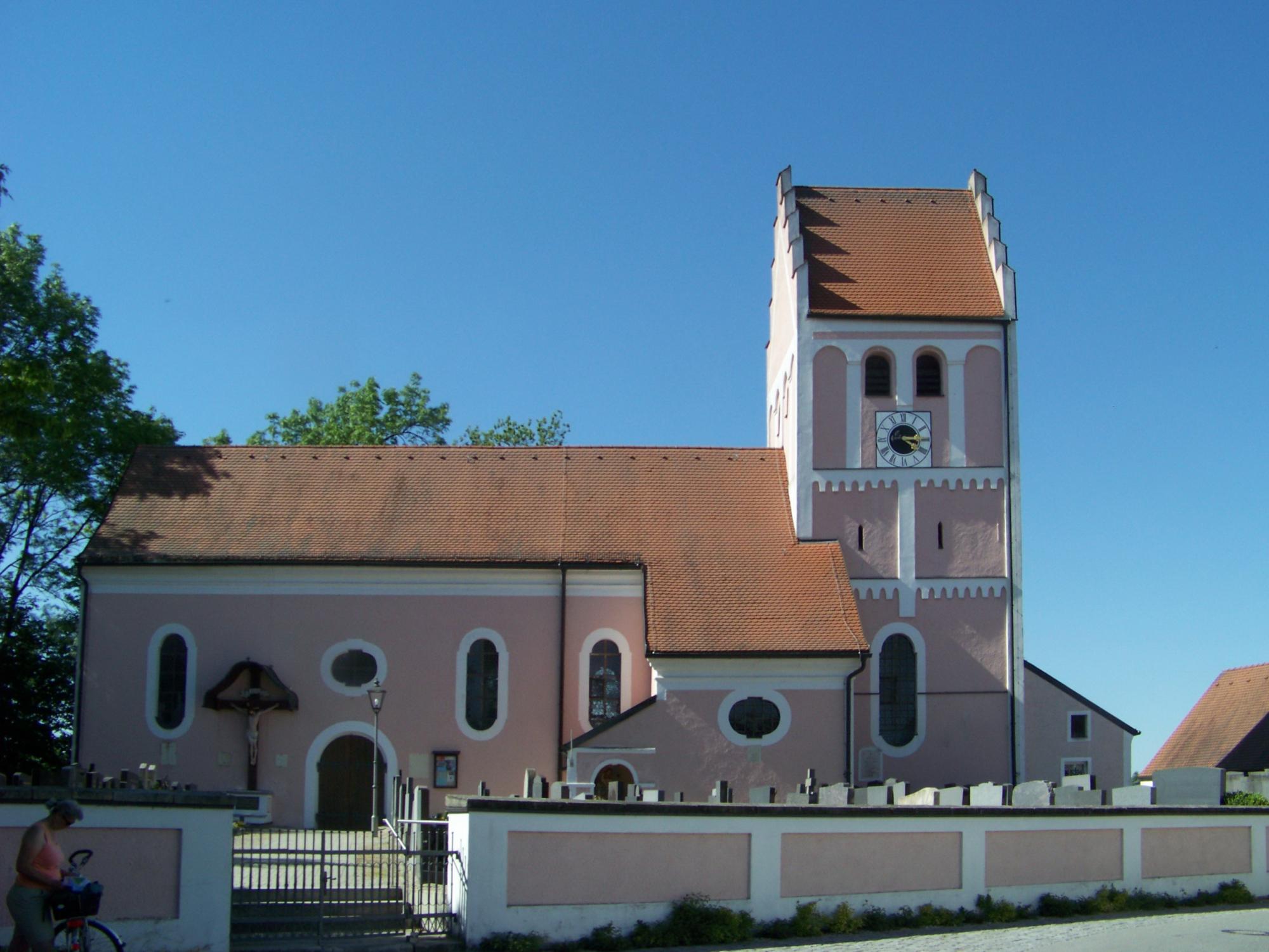 Niederp C3 B6ring 25 Pfarrkirche Sankt Bartholom C3 A4us