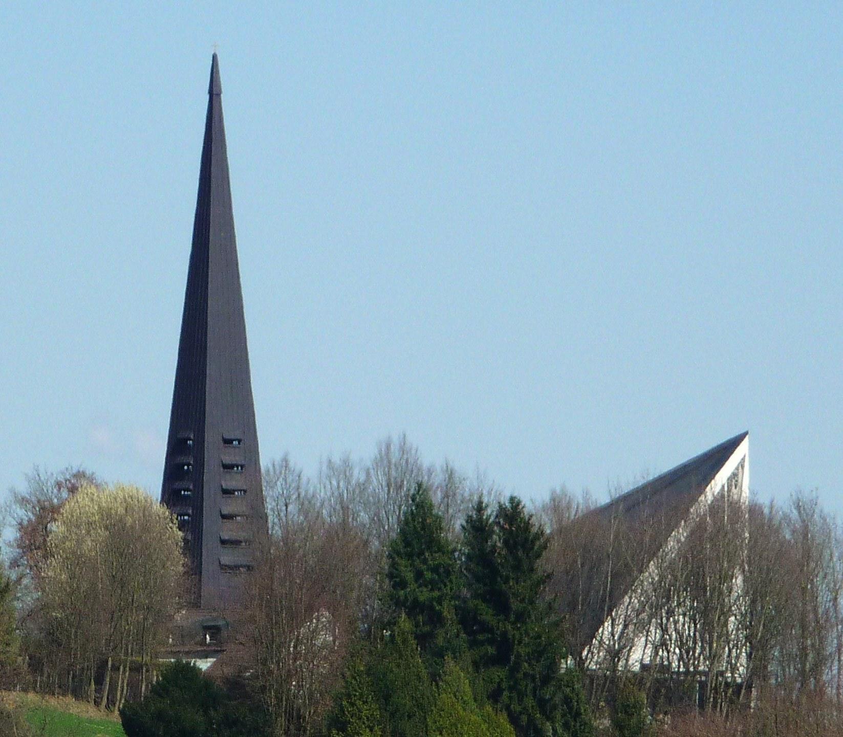 Pfarrkirche Christus der KC3 B6nig Ruhstorf an der Rott
