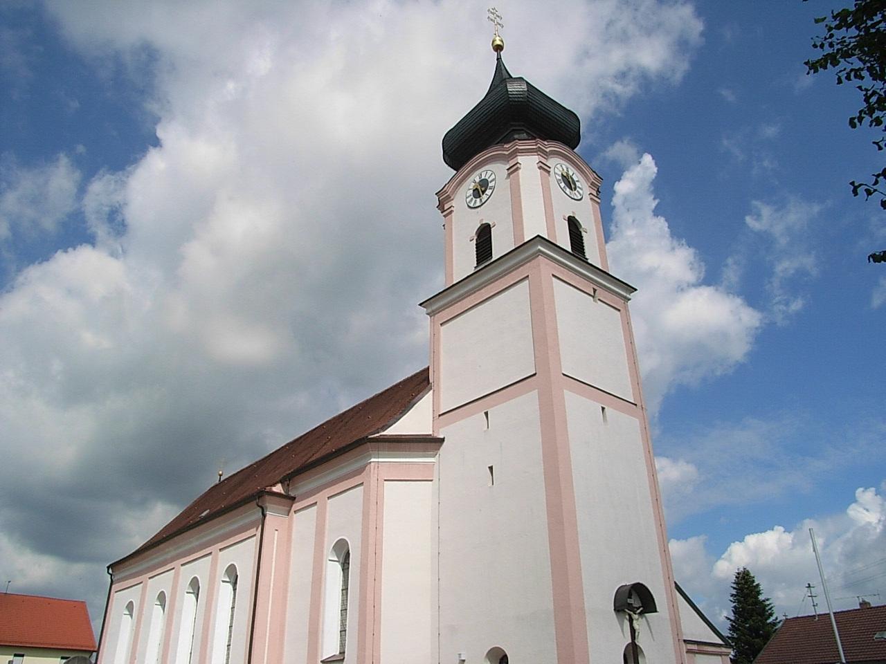 Pfarrkirche Ro C39 Fbach
