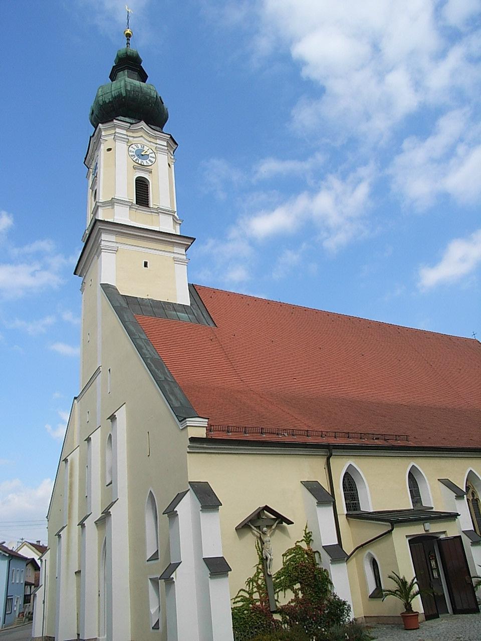 Pfarrkirche Rotthalm C3 B Cnster
