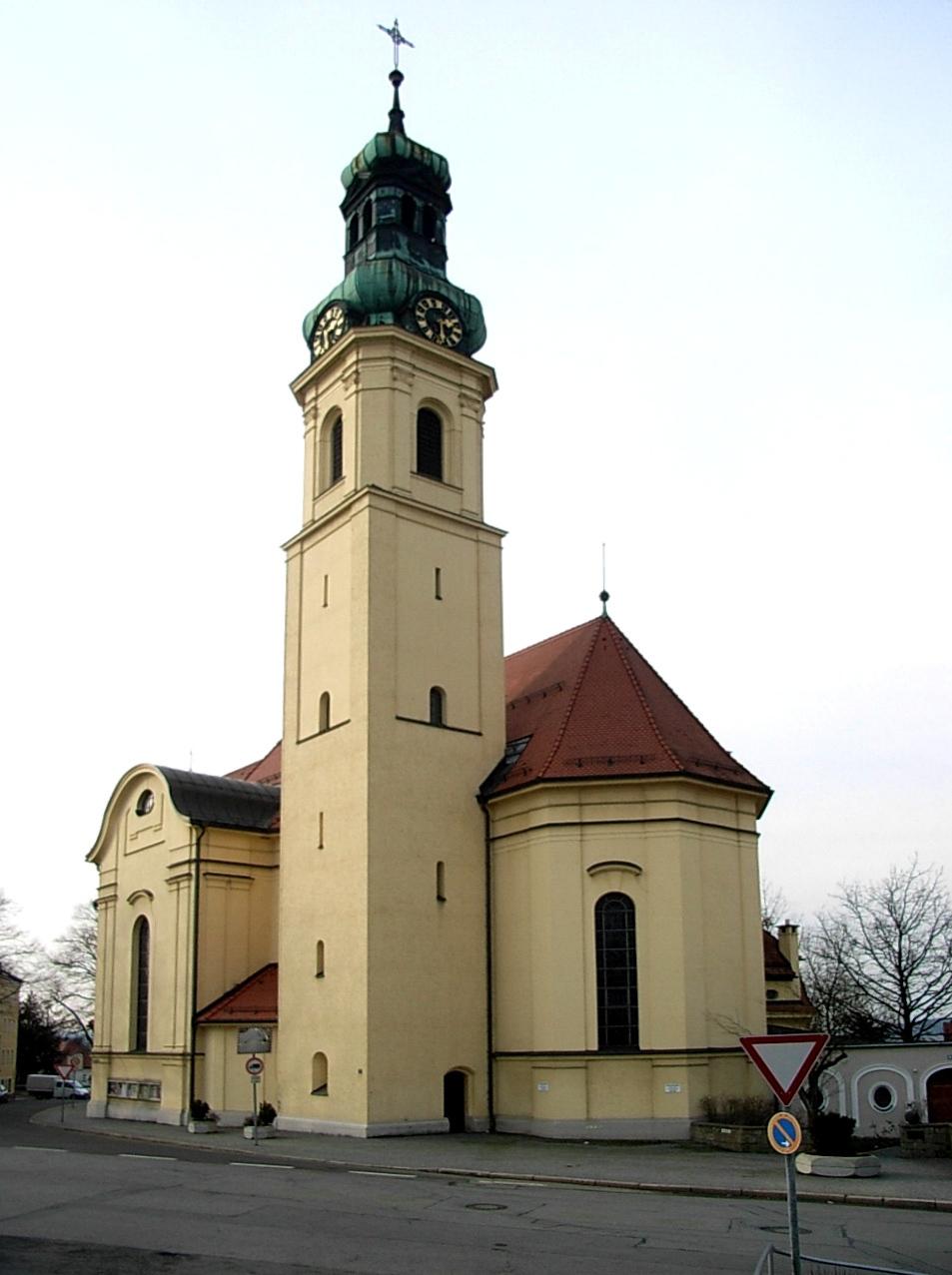 Pfarrkirche St Anton2 C Passau