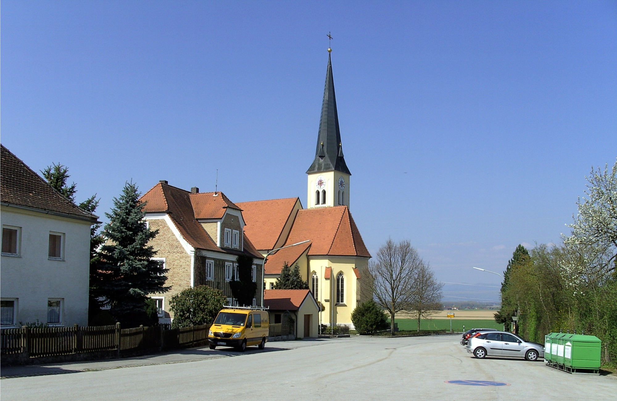 Wallerdorf Dorfplatz